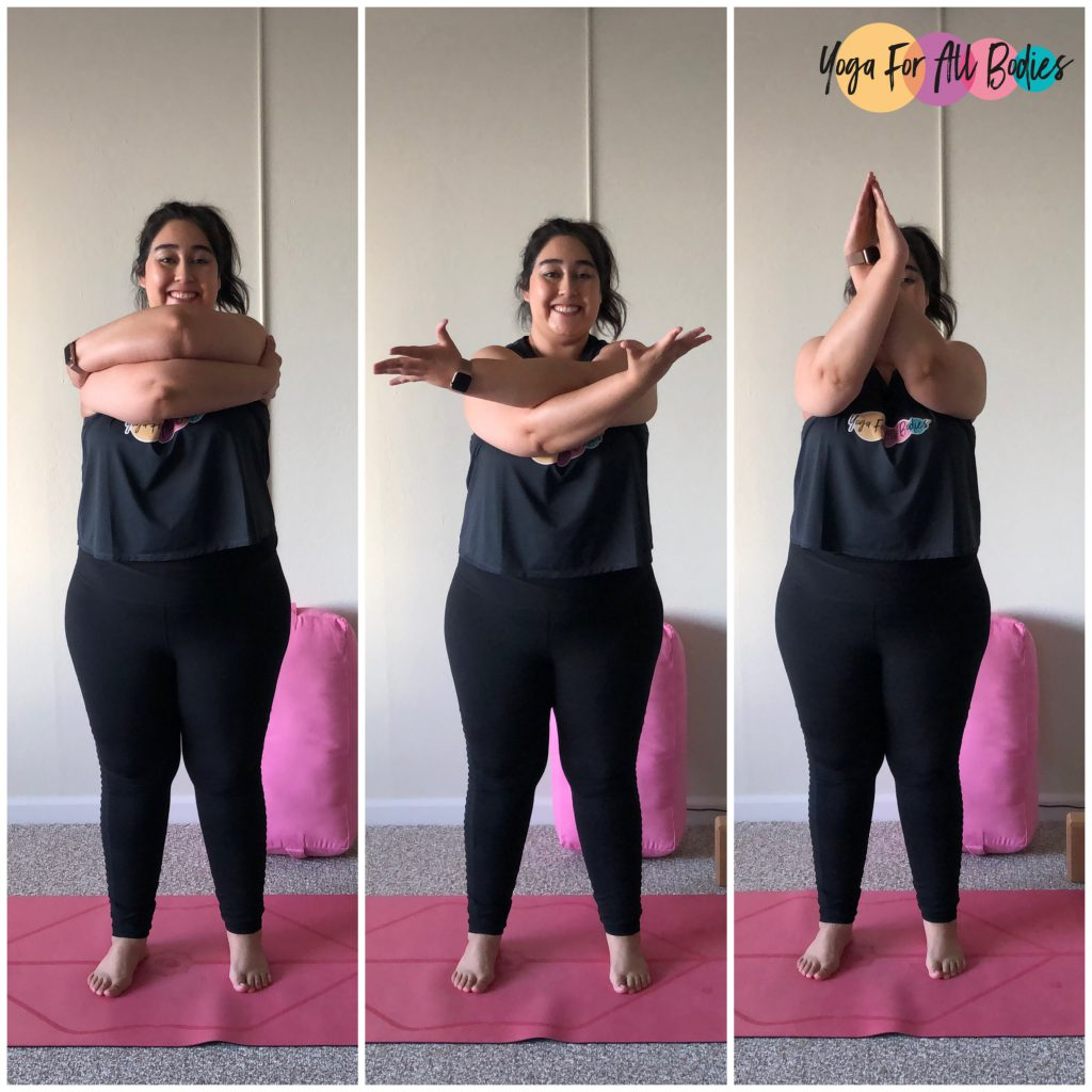Variaciones de los brazos de águila para todos los cuerpos – Yoga ...